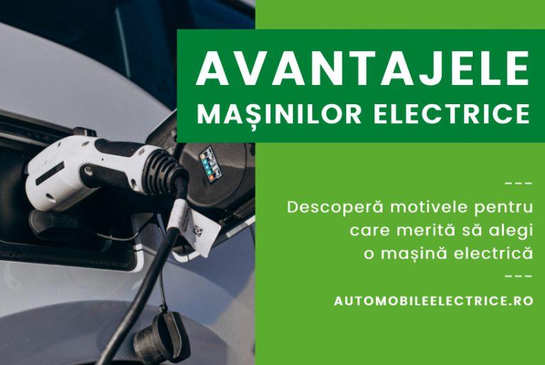 Avantajele masinilor electrice