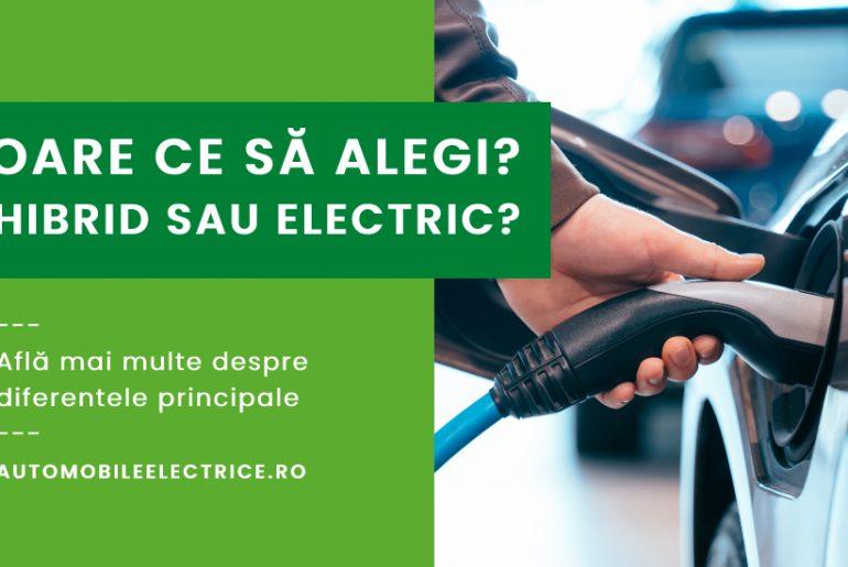 Hybrid sau electric