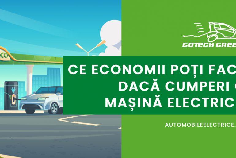 Ce economii poti face daca cumperi o masina electrica
