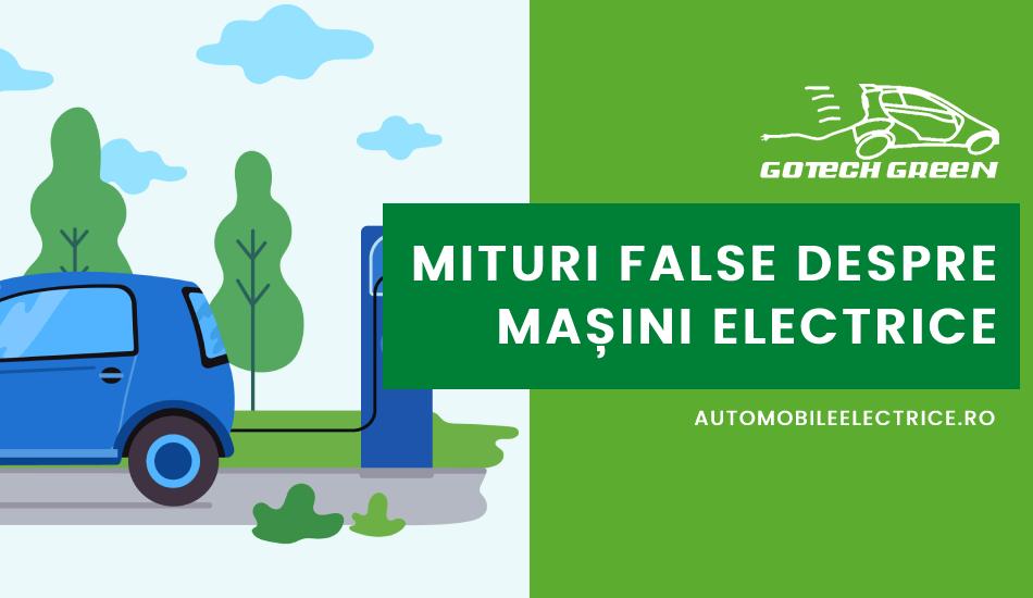 Mituri false despre masini electrice